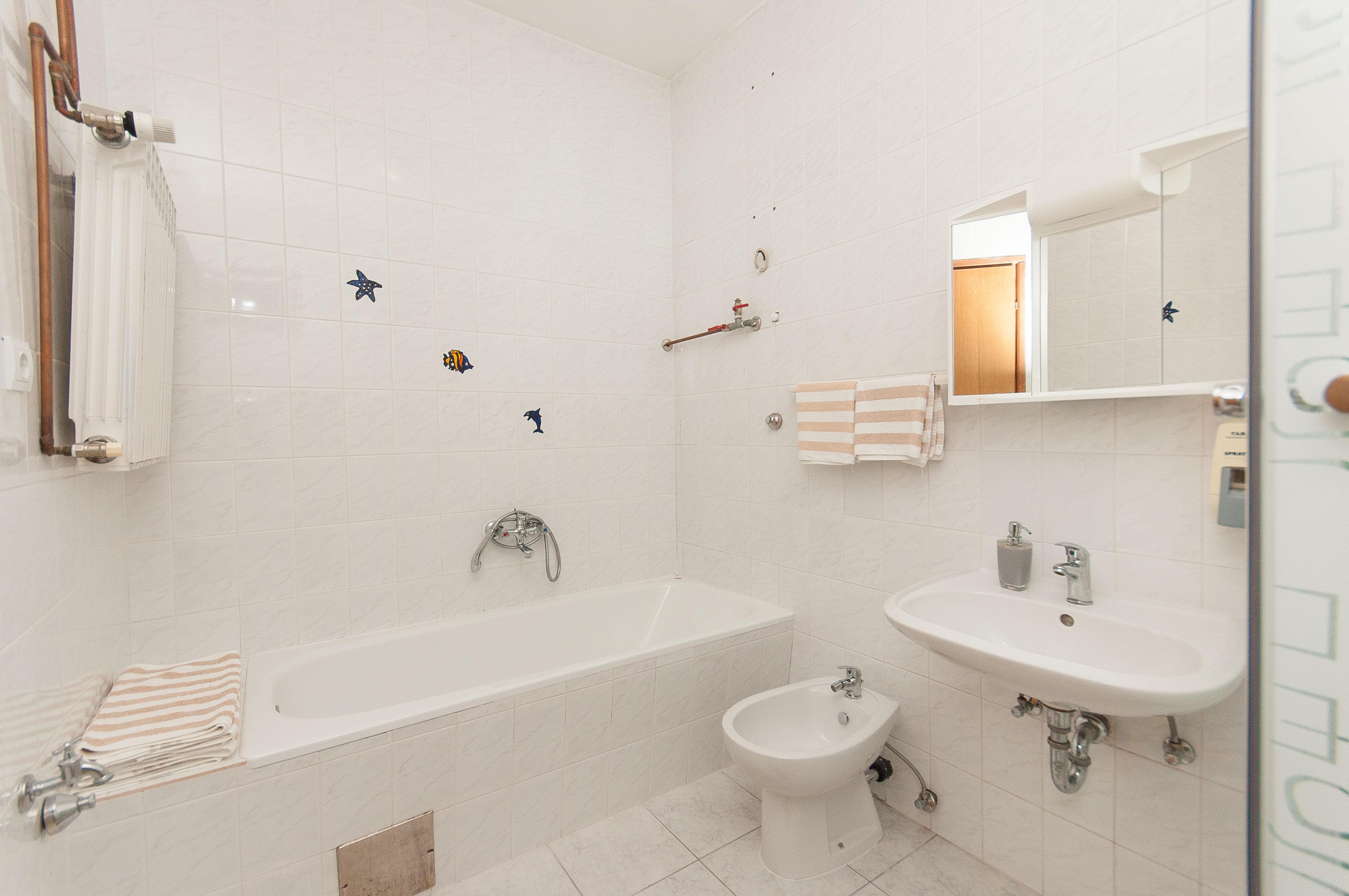 Badezimmer Appartement A 6+2
